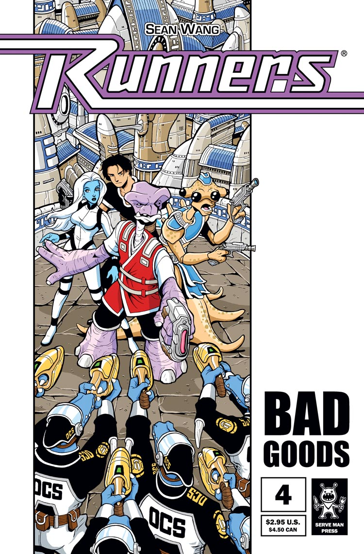 Vol 1 Bad Goods – Ch 4 – Cover