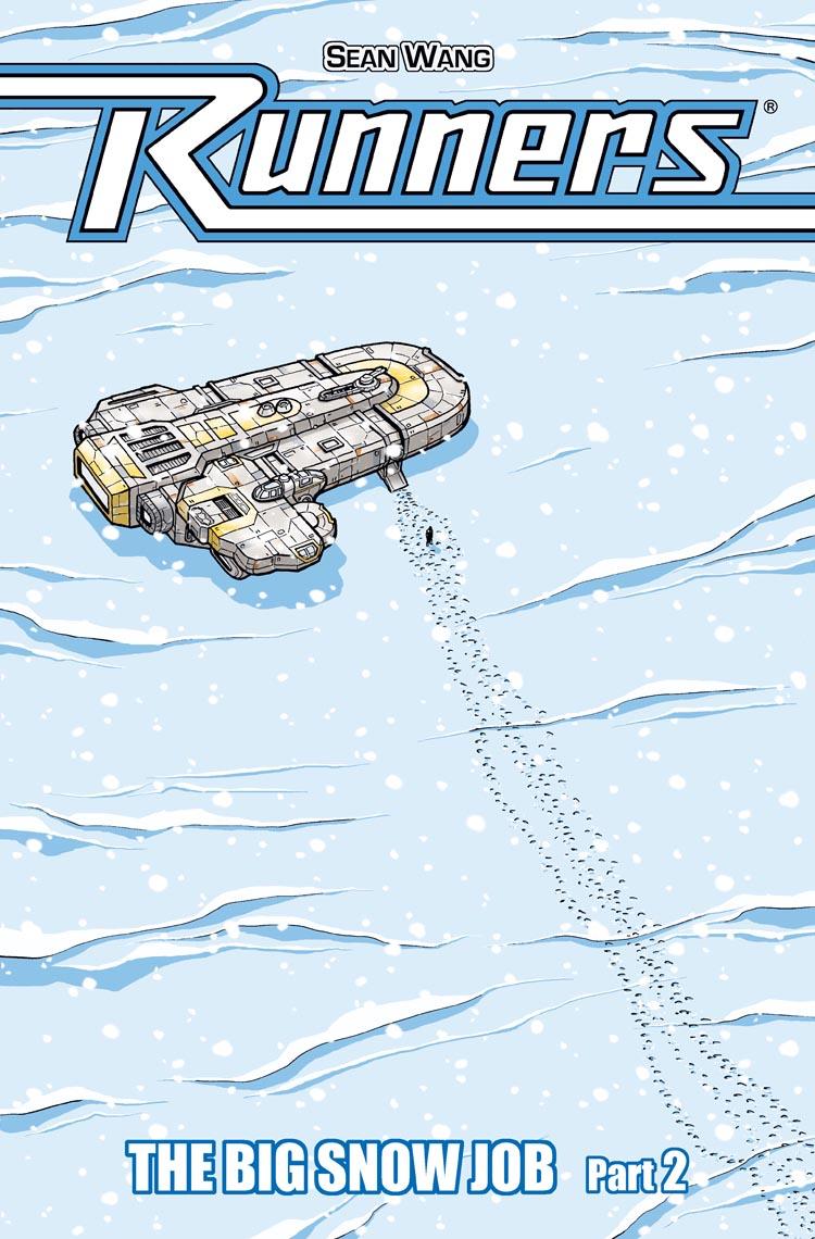 Vol 2 Snow Job – Ch 2 – Cover