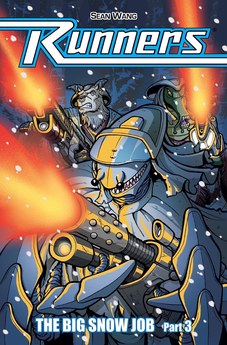 Vol 2 Snow Job – Ch 3 – Cover