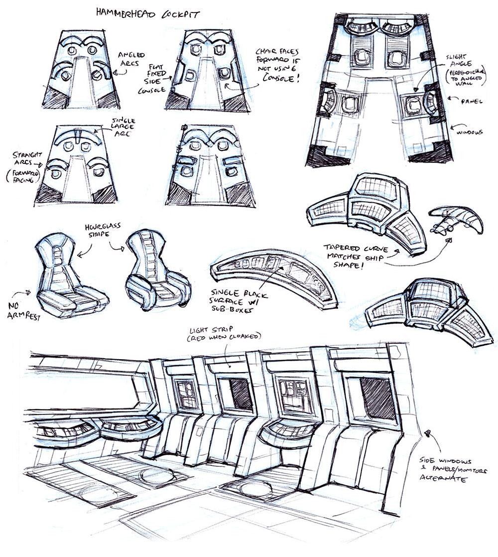 BONUS CONTENT: Sketchbook: Iron Echo Cockpit